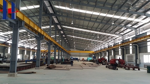 Prefabricated Steel Frame Workshop Building image