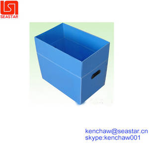 Wholesale pp hollow sheet: Water Proof Transfer Box with PP Hollow Sheet