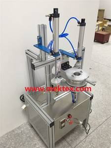 Wholesale wrap machine: Pneumatic Manual Round Soap Pleated Packing and Wrapping Machine (MEK-P490)