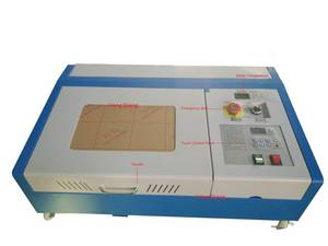 Wholesale emf: 300*200mm CO2 Laser Stamp/Seal Engraving/Cutting Machine Engraver Cutter/HQ3020