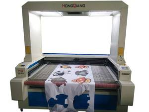 Wholesale co2 laser marker: 1800*1000mm CO2 Vision Laser Cutting Machine Laser Cutter W/Digital Camera Sublimation Fabric/HQ