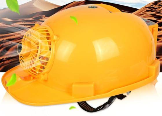 Sell New Arrival Wholesale Solar Power Air Conditioner Construction Worker Helme