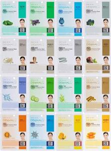 Wholesale face mask: Dermal Korea Collagen Essence Full Face Facial Mask Sheet, 16 Combo Pack