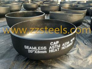 Wholesale a234 wpb: 20 Inch A234 WPB Seamless Cap
