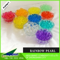 Wholesale rainbow crystal soil: Plastic Material and Wedding, Party, Flower , Decor Occasion Crystal Bead Wedding Decor