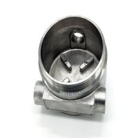 Custom 304 / 316 Stainless Steel Water Pump Impeller Made by Lost Wax Casting