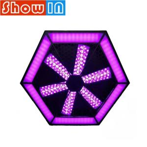 Wholesale audio: 200W Infinite Whirlwind LED Pixel Blight SMD RGB DMX Pro Sound Audio Stage Lighting Equipment for DJ
