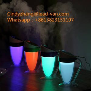 Wholesale Humidifier: Romantic Colorful Night Light Moonlight Cup Humidifier