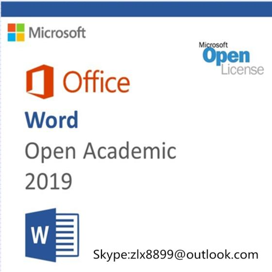 Office 2019 Home Business 2019 Office Hb PC Key Code Key Card Retail Sealed Package