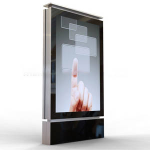 Wholesale outdoor advertising: Advertising Aluminium Light Box Scrolling Billboard Outdoor