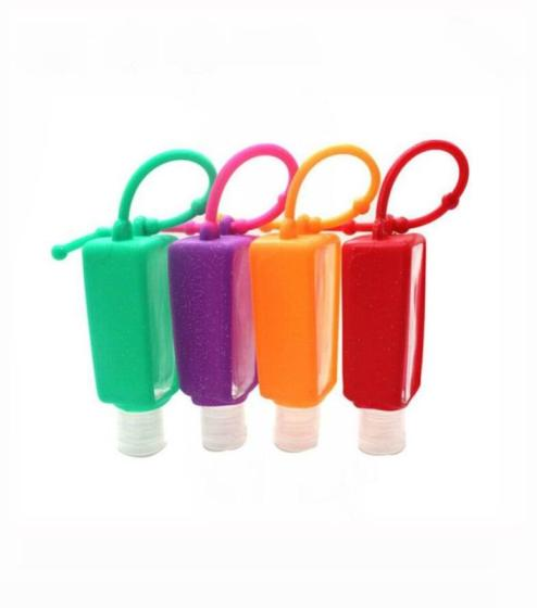 Wholesale Bulk Antiseptic Hand Sanitizer Silicone Holder 30ml