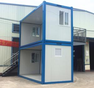 Wholesale steel wooden house: Container House
