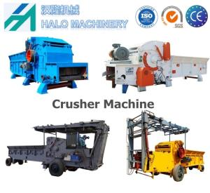 Wholesale feed crusher: Halo Manufacture Biomass Wood Branch Crusher Machine
