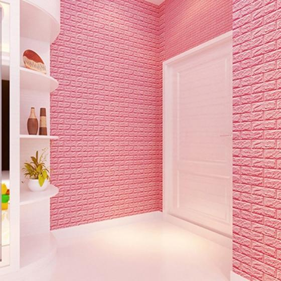 Mould-proof Wall Sticker 3D Brick Wall Decoration Panel for Administration