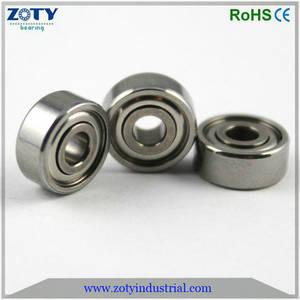 Wholesale Deep Groove Ball Bearing: S623ZZ 3X10X4MM Mniature Stainless Steel Ball Bearing
