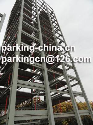 Sell high level high speed hydraulic tower puzzle parking system