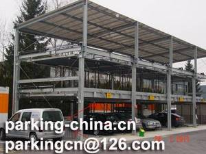 Wholesale energy saving card: Hydraulic Puzzle Parking System 3 Levels