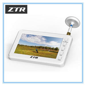 Wholesale 8 inch monitor: ZTR 4.3 Inch LCD Screen Monitor with DVR Function and 5.8g Mushroom Antenna for FPV Drone