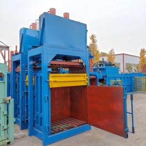 Wholesale vertical balers: China Famous Automatic Hydraulic Waste Paper Baler Cardboard Baler Machine