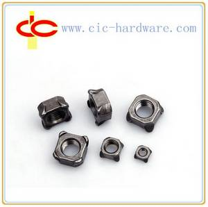 Wholesale m4 weld nuts: Square Welded Nuts