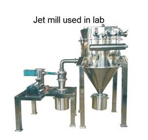 Wholesale compressed air distribution: QDF-120 Jet Mill in Lab