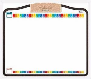 Wholesale calendar: Calendar Schedule Board