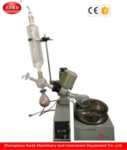 Wholesale scientific glassware: Mini Industrial Vacuum Rotary Evaporator