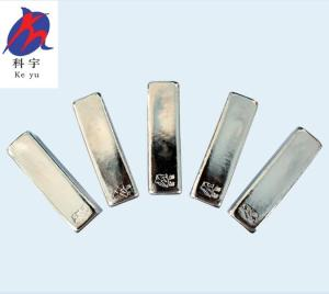 Wholesale tin solder: Manufacturer Indium Ingot 99.995% Purity 4n5 Indium Ingot ITO Film Use Factory Spply